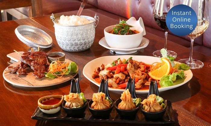 89 Thai Restaurant - North Strathfield - North Strathfield: 3-Course Thai Dinner + Wine for 2 ($39), 4 ($78), or 6 People ($117) at 89 Thai Restaurant (Up to $244.20 Value)