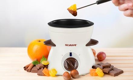 Fondue eléctrico de chocolate Silvano
