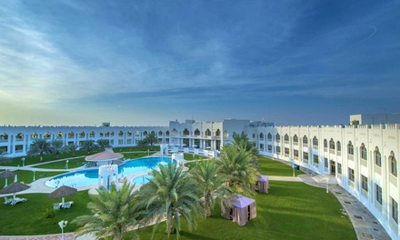 Al Gharbia: 1 or 2 Ramadan Nights for Two with Sightseeing, Activities and Option for Meals at Liwa Hotel