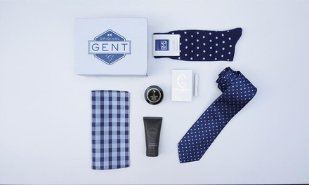 $29.95 for The First Monthly Men's Style and Grooming Box from The Original Gent