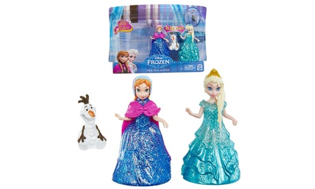 Disney's Frozen Doll Set with Glitter Glider Anna, Elsa, and Olaf 6a76fffe-09a1-11e7-b5c3-00259060b5da