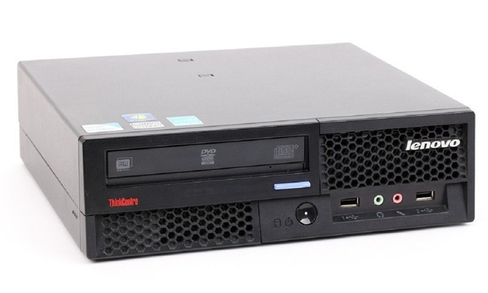 60 Off On Lenovo Thinkcentre Desktop Pc Groupon Goods