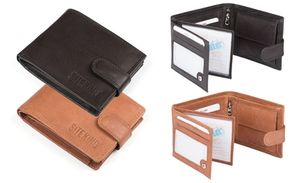 Multi-Compartment RFID Wallet