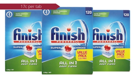 $64 Finish AllinOne Powerball Deep Clean Dishwasher Tablets