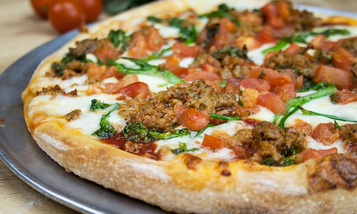 Eddie's Pizzeria - Eddie's Pizzeria and Eatery: Pizza and Italian Food at Eddie's Pizzeria and Eatery (Up to 44% Off). Two Options Available.