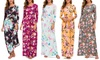 Lilly Posh Women's Long-Sleeve Maxi Dress. Plus Sizes Available
