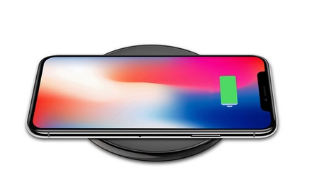 Ultra Thin Fast Wireless Charger Qi Charging Pad for iPhone X/8/8 Plus and Samsung S8/Note 8: One ($25) or Two ($45)