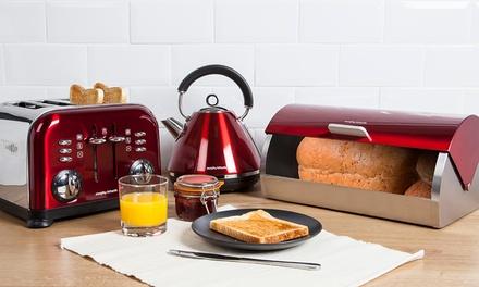Morphy richards 3pc kitchen set groupon goods for Kitchen set groupon