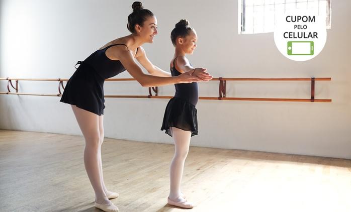 Escola de Dança Mônica Maia – Lago Norte: 3, 6 ou 12 meses de aulas de dança