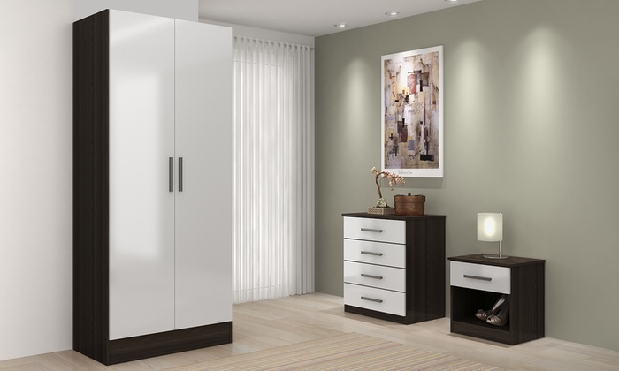 High Gloss Bedroom Furniture Groupon Goods