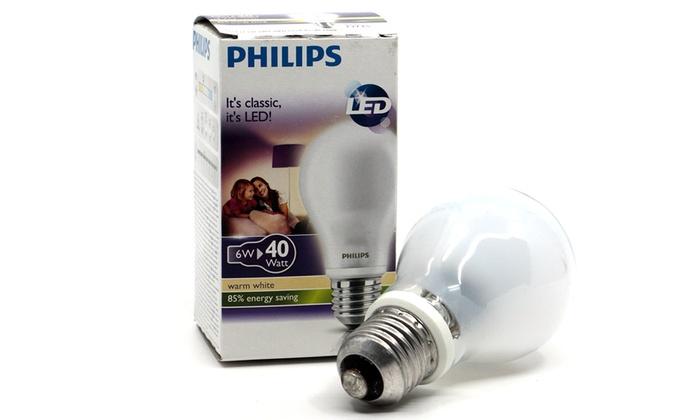 Led Lampen Philips : Philips led lampe e groupon