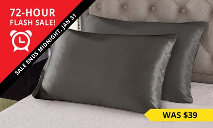Mulberry Silk Pillowcases: Two $34 or Four $64