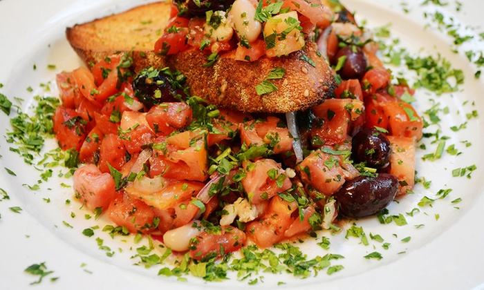 Italian Cuisine at Mulberry Street (Up to 50% Off). Five Options Available.
