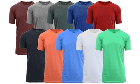Men's Crew-Neck Fitted Tee (8-Pack) bfcfe82a-2545-11e7-b339-00259069d868