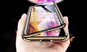 360° Magnetic Flip Case for iPhone