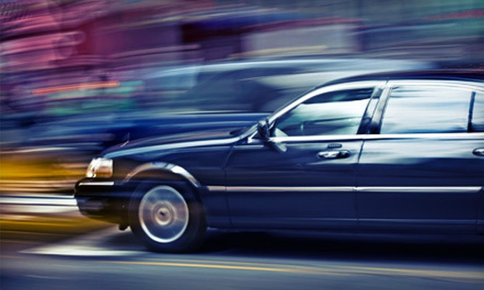 Hollywood Limousine - Ottawa: Round-Trip Luxury-Sedan Ride to Airport or Stretch-SUV Ride from Hollywood Limousine (Up to 54% Off)