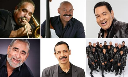 image for New York Salsa Festival featuring Willie Colon and Oscar D'León on Saturday, June 9, at 8 p.m.