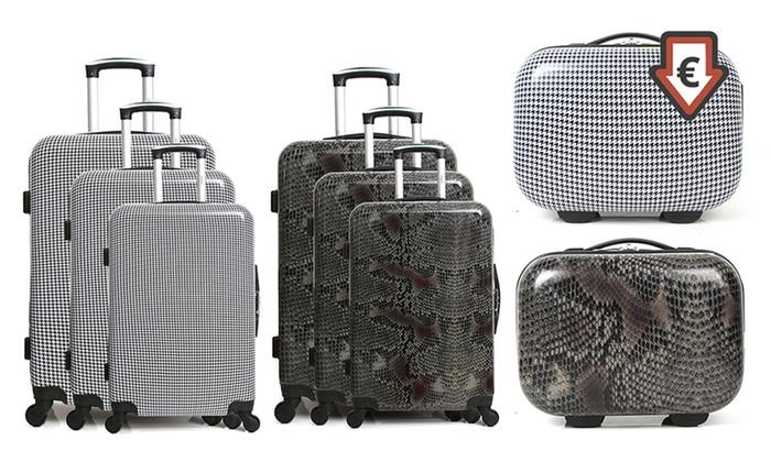 0a8979739 Juego de 3 maletas y neceser | Groupon