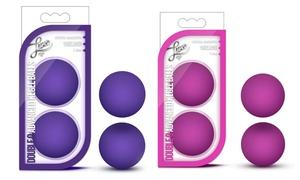 Blush Luxe Double O Advanced Kegel Balls