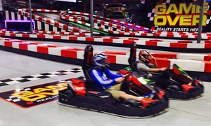 Game Over Gold Coast: One ($25), Two ($45) or Three ($60) Karting Race Session at Game Over Gold Coast (Up to $117 Value)
