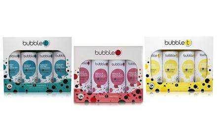 Bubble T Bade-Kosmetik-Set in unterschiedlichen Duftrichtungen