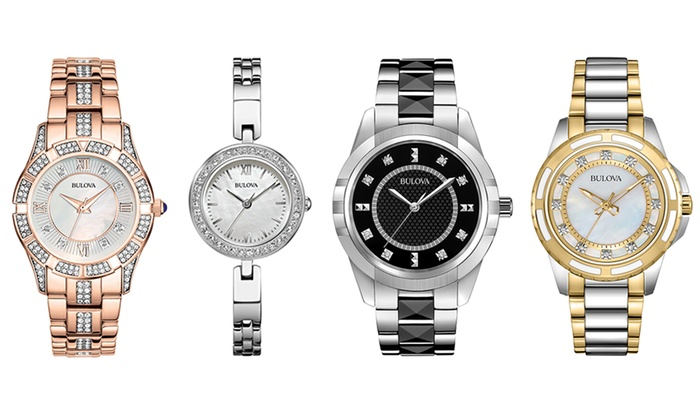 Bulova Women's Dress Watches (Refurbished) | Groupon