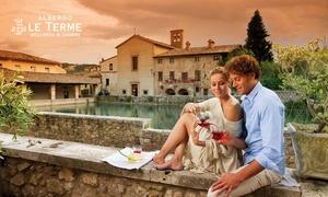 Le Terme (Bagno Vignoni): Ingresso di coppia a Le Terme di Bagno Vignoni con spa, idromassaggio e sauna romana