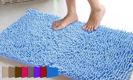 שטיח שאגי איכותי לאמבטיה בעל תחתית קשיחה המונעת את החלקת השטיח ברצפה בזמן דריכה ב-49 ₪ בלבד