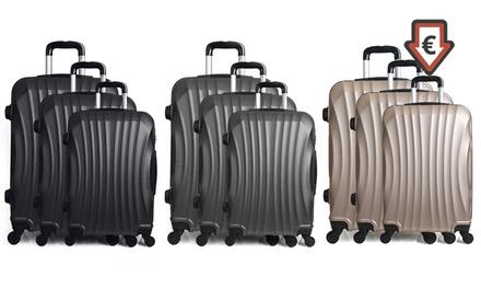 2aa939f5bf7 Beautycase en/of set van 3 koffers van ABS van Infinitif Paris ...