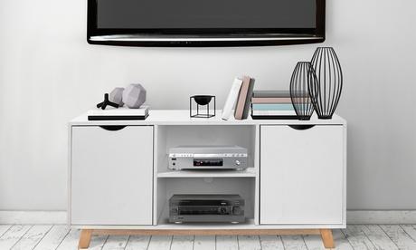 Mueble de TV Luna de diseño escandinavo