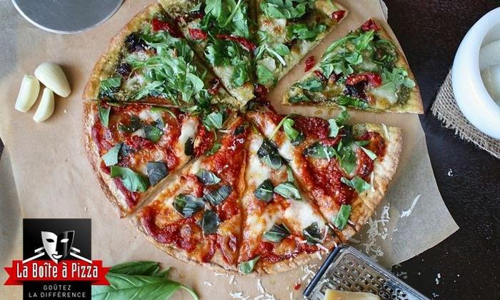 La Boite à Pizza Pessac - Pessac: 2 pizzas moyennes au choix, à emporter ou en livraison dès 14,90 € au restaurant La Boite à Pizza Pessac