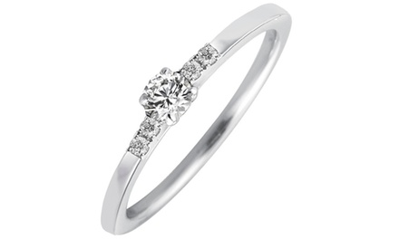 bague solitaire mazal diamond