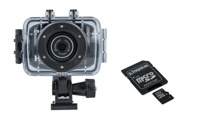 Sport camera SC-110 Forever con o senza microSD da 29,99 € (fino a 80% di sconto)