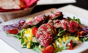 Autorskie Bistro & Cafe: Romantyczna kolacja z przystawką, daniem głównym, deserem i napojem dla 2 osób od 119,99 zł w Autorskie Bistro&Cafe