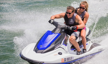 Up to 60 Minute Jet Ski Tour at Seabreacher Water Sports Training Services (50% Off)