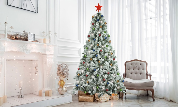 Regali Di Natale Groupon.Albero Di Natale Santa Claus Evergreen House Disponibile In Varie Dimensioni