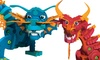 Bloco Dragons Aqua and Pyro Set