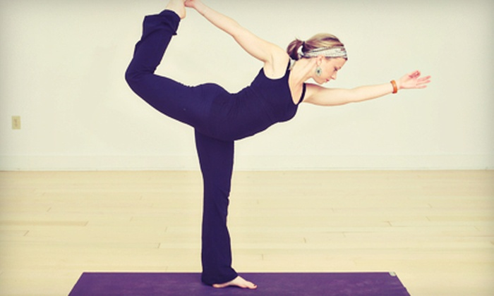 Invoke Studio - Multiple Locations: $49 for One Month of Unlimited Yoga and Pilates Classes at Invoke Studio (Up to $139 Value)