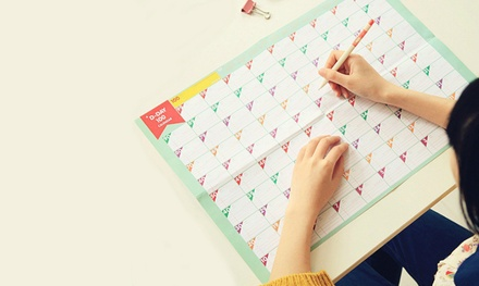 Four (AED 49), Eight (AED 89) or Twelve (AED 129) 100-Day Countdown Calendars