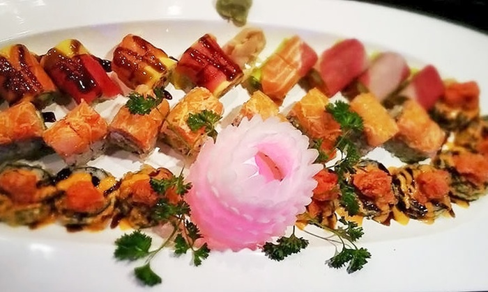 Kintaro Japanese Sushi & Hibachi Steak House - Blaine: Japanese Meal for Two with Drinks at Kintaro Japanese Sushi & Hibachi Steak House (Up to 46% Off)
