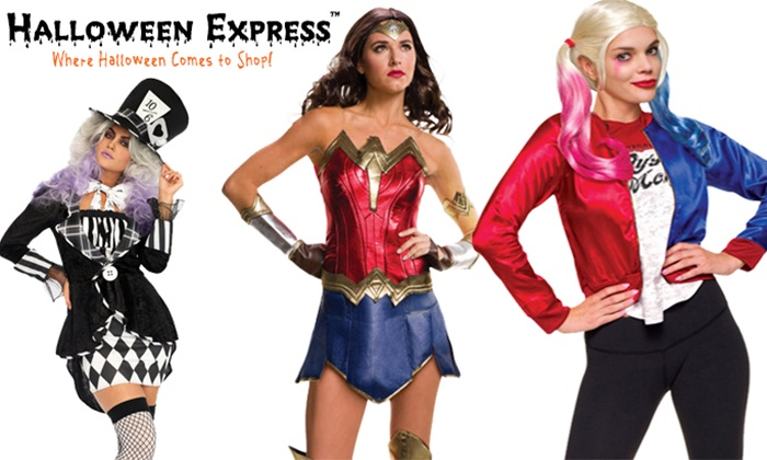 Up to 50% Off Costumes and Props at HalloweenExpress.com ...  sc 1 st  Groupon & Halloween Costumes and Props - HalloweenExpress.com | Groupon