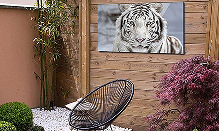 Up To 95 Off On Custom Waterproof Canvas Art Groupon Goods