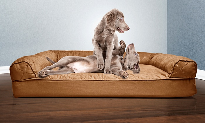 Up To 79 Off On Sofa Style Orthopedic Pet Bed Groupon Goods