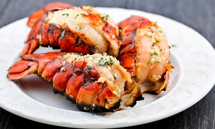 $69 for a Three Course Seafood Lunch or Dinner Indulgence with Wine for Two People at Lobster Cave (Up to $230 Value)