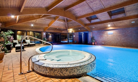 Warwickshire: Standard Room for Two with Breakfast, Leisure Access and Spa and Golf at 4* Lea Marston Hotel
