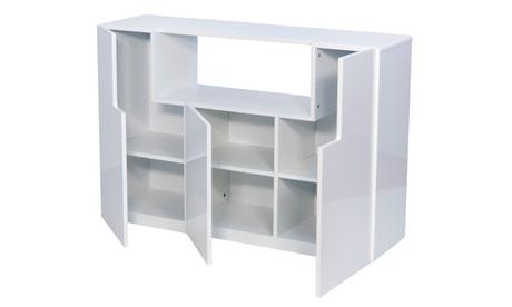 Aparador funcional Jade con 3 puertas y varias zonas de almacenaje