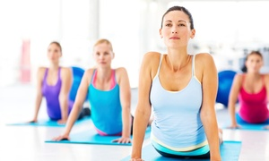 Hot Yoga and Wellness Center Kennesaw: 5 or 10 Classes or One Month of Unlimited Classes at Hot Yoga and Wellness Center Kennesaw (Up to 59% Off)