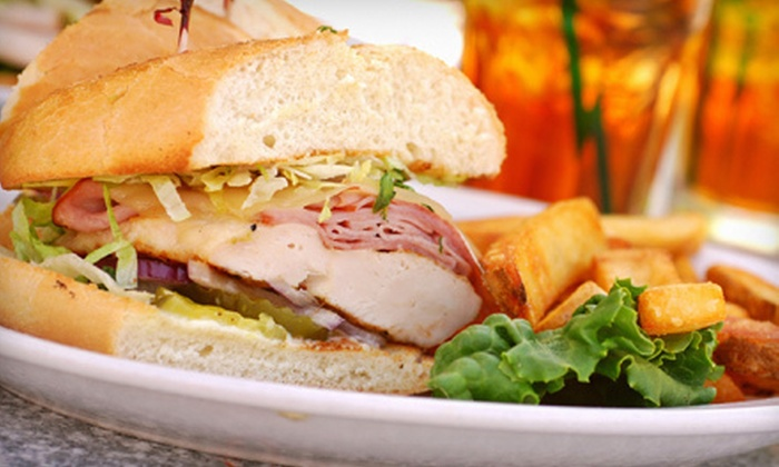 Commercial Point Cafe - North Fort Lauderdale: Breakfast or Lunch for Two with Drinks at Commercial Point Cafe (Up to 54% Off)