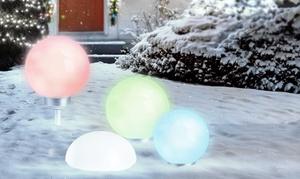 Boules et demi-boules solaires