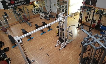 30 ingressi sala pesi e corsi